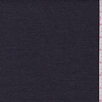 Heather Dark Navy Woven Cotton