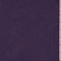 Heather Purple Woven Cotton