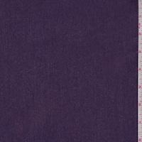 Heather Purple Woven Cotton