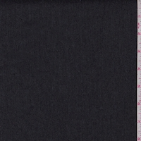 Heather Dark Charcoal Woven Cotton