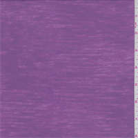*1 YD PC--Lilac Pink Burn Out T-Shirt Knit