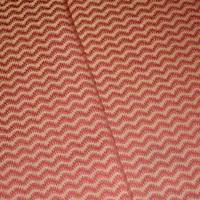*1 YD PC--Sunset Red/Golden Yellow Chevron Wave Jacquard Decor Fabric