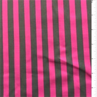 *1 YD PC--Magenta/Graphite Stripe Swimwear