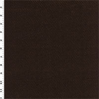 *1 1/2 YD PC--Twill Texture Vinyl - Dark Chocolate Brown