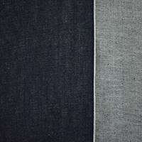*1 1/4 YD PC--Dark Navy Blue Cotton Japanese Selvedge Denim