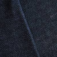 *4 1/4 YD PC--Black/Night Navy Boucle Textured Wool Blend Sweater Knit