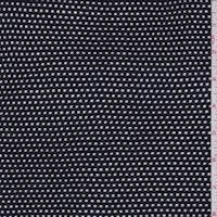 *2 3/4 YD PC--Midnight Rayon Mesh Knit