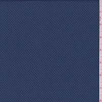 *4 3/8 YD PC--Oxford Blue Pique Activewear
