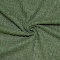 Herbal Green Semi-Opaque Pique Knit