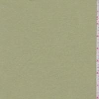 *1 3/8 YD PC--Celery Green Cotton Interlock  Knit