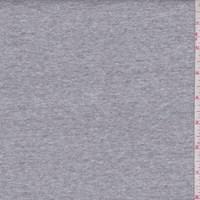 *3 YD PC--Heather Grey Cotton Interlock  Knit