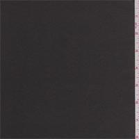*7/8 YD PC--Smoke Black Polyester Satin
