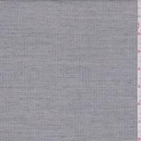 *2 YD PC--Ecru Heather Mini Check Wool Blend Suiting