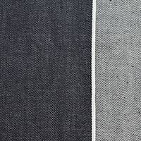 *6 5/8 YD PC--Inked Navy Blue Japanese Selvedge Cotton Denim Twill