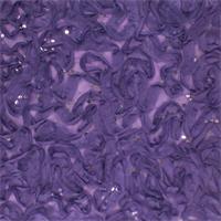 *4 1/2 YD PC--Iris Purple Ribbon Sequin Mesh