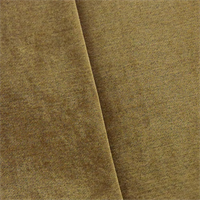 *7 YD PC--Brown Faux Velvet Chenille Home Decorating Fabric