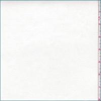 *4 1/4 YD PC--White Cotton Stretch Twill
