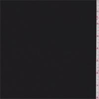 *4 YD PC--Black Stripe Polyester Georgette