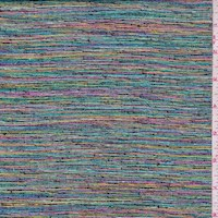 *1 1/4 YD PC--Metallic Rainbow Suiting