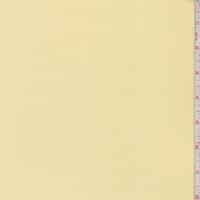Pastel Yellow Rayon Jersey Knit