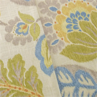 *2  YD PC -- Beige/Multi Braemore Floral Print Home Decorating Fabric