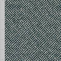 *4 1/2 YD PC -- Black/White Chenille Twill Home Decorating Fabric