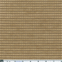 *1 7/8 YD PC -- Wheat Beige Kahuna Stripe Chenille Home Decorating Fabric