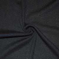Basic Black Tubular Rib Knit