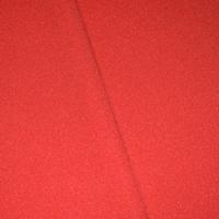 Bright Red Tubular Rib Knit