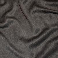 Obsidian Black Tubular Rib Knit