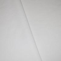 Basic White Tubular Rib Knit