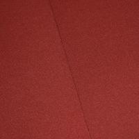 Sunset Rust Orange Tubular Rib Knit
