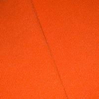 Orange Tubular Rib Knit
