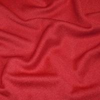 Poppy Red Tubular Rib Knit