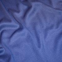Mosaic Blue Tubular Rib Knit
