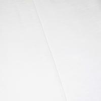 Cloudy White Tubular Slubbed Rib Knit
