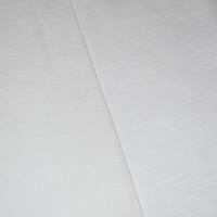 Wing White Tubular Slubbed Jersey Knit