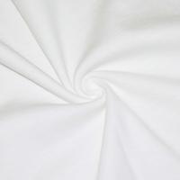 Angel White Tubular Rib Knit