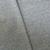 Static Gray Tubular Rib Knit