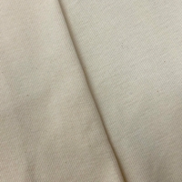 Pastel Beige Tubular Rib Knit