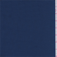 *3 1/2 YD PC--Ink Blue Polyester Satin