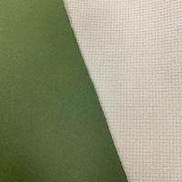 *3 YD PC--Soft Shell Grid Fleece - Crocodile Green/Gray