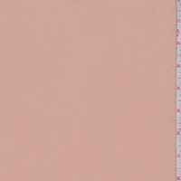 Pink Clay Double Brushed Jersey Knit