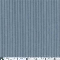 *1 7/8 YD PC--Faded Blue Stripe