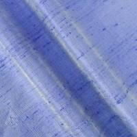 *4 1/2 YD PC--Faded Cobalt Blue Iridescent Silk Dupioni Shantung