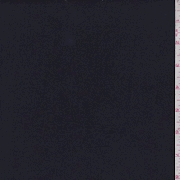 Dark Navy Double Brushed Jersey Knit