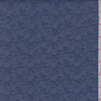 Cadet Blue Mini Floral Cluster Eyelet