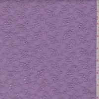 Lilac Mini Floral Cluster Eyelet