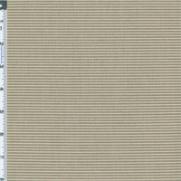 *3 YD PC -- Mist Taupe/White Textured Woven Performance Decor Fabric