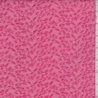 Coral Pink Embroidered Mini Vine Lawn